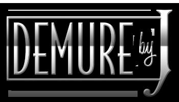 demurebyj dot com logo shiney Large