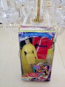 Fran Drescher The Nanny Talking Doll   (sold)