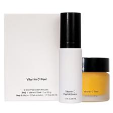 Vitamin C  Facial Peel (Vibran-c) - 2 Step Facial Peel + Activator System - For a Vibrant Radiant Complexion