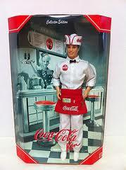 Mattel Barbie - Coca Cola Ken Doll - Coke Ken